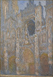 Claude Monet: Rouen Cathedral, the Façade in Sunlight