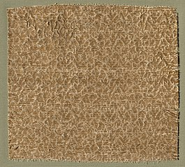 Textile with Tiny Leaves