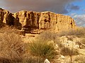 Cliff, Lavan Creek, Negev, Israel מצוק, נחל לבן, רמת הנגב - panoramio.jpg