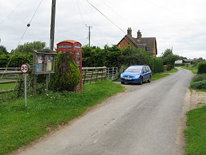 Clifton, Worcestershire - Image: Clifton hamlet