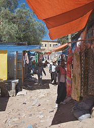 File:Clothing Market, Harar, Ethiopia (2757329771).jpg. By: http://www.flickr.com/people/40595948@N00 A. Davey from Where I Live Now: Pacific Northwest
