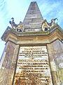 Cluj-Napoca Obeliscul Carolina 04 latura de nord.jpg