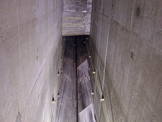 Clyde Dam - Expansion joint