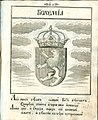 Coat of Arms of Bohemia from Stemmatographia by Hristofor Zhefarovich (1741).jpg