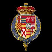 Coat of arms Sir George Villiers, 1st Duke of Buckingham, KG