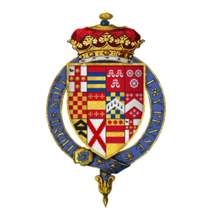 Duke of Buckingham - Arms of George Villiers, 1st Duke of Buckingham (1592–1628)