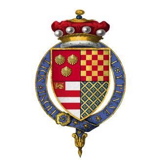Thomas Dacre, 2nd Baron Dacre - Arms of Sir Thomas Dacre, 2nd Baron Dacre, KG