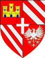 Coat of arms of the House of Luserna d'Angrogna, cadet branch, c.1700.png