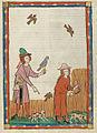 Codex Manesse 394r Kunz von Rosenheim.jpg