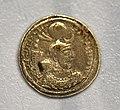 Coin of Yazdegerd I, 399-421 CE, from Iraq, Sulaymaniyah Museum.jpg