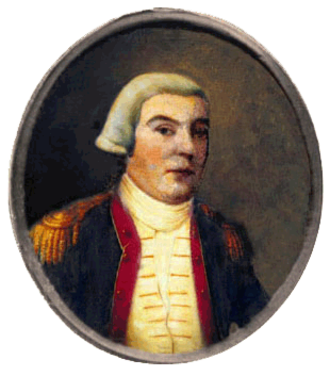 Ancient and Honorable Artillery Company of Massachusetts - Colonel Thomas Crafts, Jr., a member of the AHAC