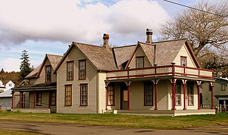 Ilwaco, Washington - Colbert House in Ilwaco, a National Register of Historic Places site