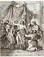 Collection de cent-vingt estampes, gravée d'après les tableaux and dessins qui composoient le cabinet de m. Poullain précédée d'un abrégé historique de la vie des auteurs qui la composent Cette suite (14592002190).jpg