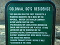 Colonial Residence Information Sign.JPG