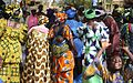 Colorful crowd, Mali.jpg