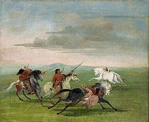Comanche Feats of Horsemanship