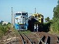 Comboios em cruzamento no Pátio da Estação Ferroviária de Itu - Variante Boa Vista-Guaianã km 203 - panoramio (1).jpg
