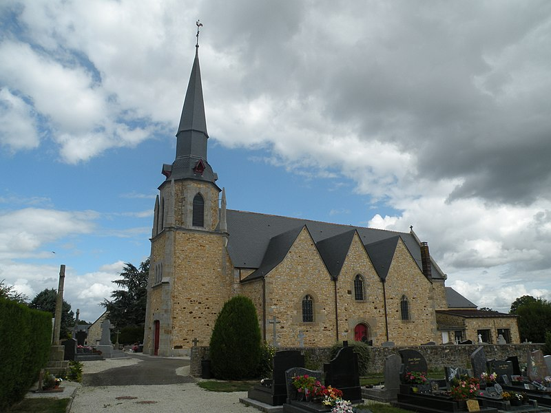 Church of Combourtillé.