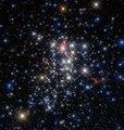 Comet-like stars Westerlund 1.tif