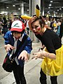 Comikaze Expo 2011 - zombie Ash and Pikachu (6325367998).jpg
