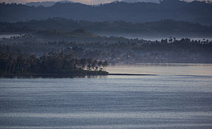 San Pedro Bay (Philippines) - The Cancabato Bay, an extension of San Pedro Bay in Tacloban