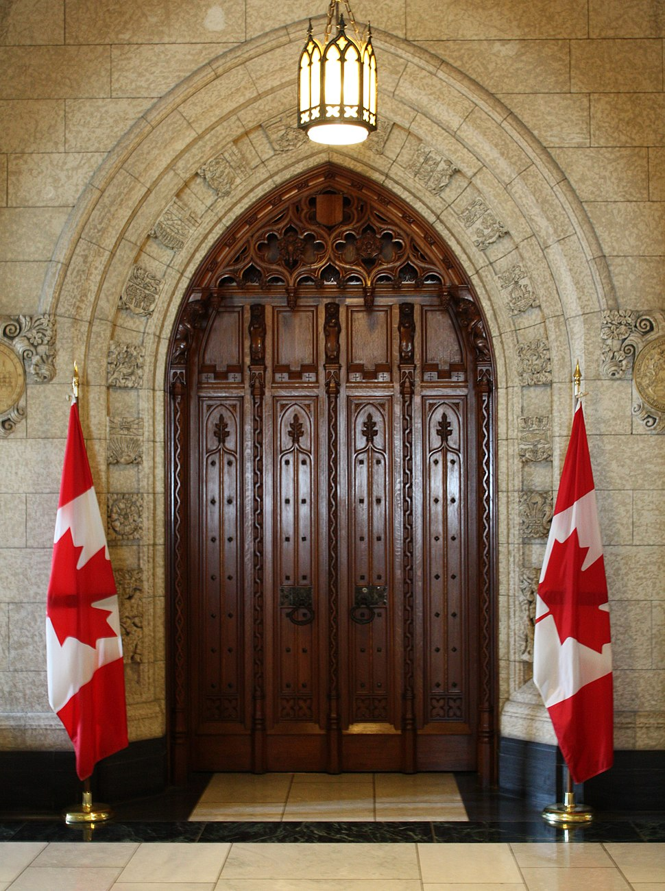 Commons-doorway
