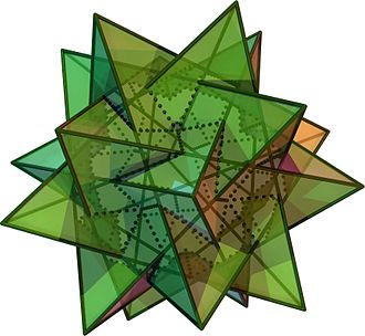 Compound of five tetrahedra - Image: Compound Of Five Tetrahedra