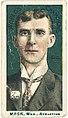 Connie Mack, Philadelphia Athletics, baseball card portrait LCCN2007683824.jpg