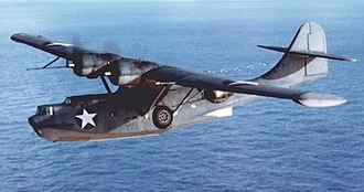 Consolidated PBY Catalina - A PBY-5A on patrol, 1942-43