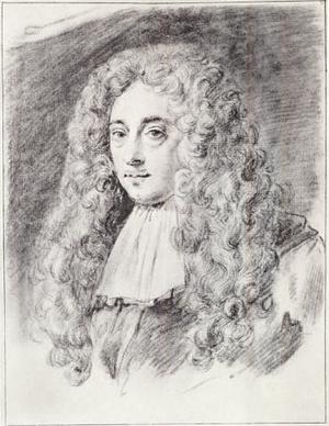 Constantijn Huygens Jr. - Constantijn Huygens Jr., self portrait (1685)