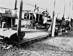 Construction of a Qantas aeroplane at Longreach circa 1928.jpg