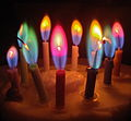 Cool colored candles, with metal salts from our rocket propellants (13049862325).jpg