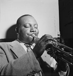 Cootie Williams, New York, 1947 ca. Photo William P. Gottlieb