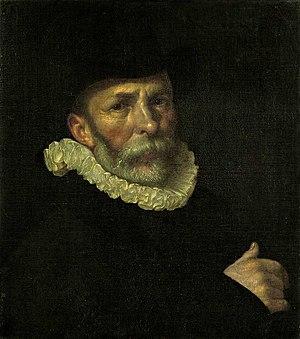 Dirck Barendsz - Portrait of Dirck Barendsz by Cornelis Ketel