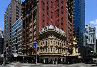 Castlereagh Street - Image: Corner of King and Castlereagh Streets, Sydney