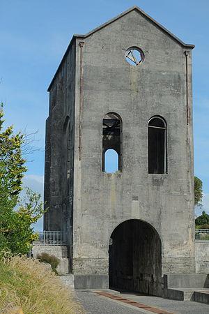 Martha Mine - Cornish Pumphouse in its present location