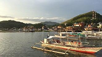 Coron, Palawan - Fishing boats in Coron.
