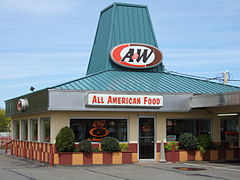 A&W Restaurants v Cortlandu ve státě New York