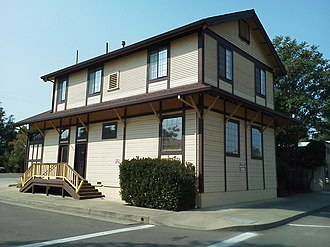 National Register of Historic Places listings in Shasta County, California - Image: Cottonwood Historic District 2012 09 25 11 45 48