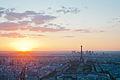 Couché de soleil sur Paris depuis la tour Montparnasse.jpg