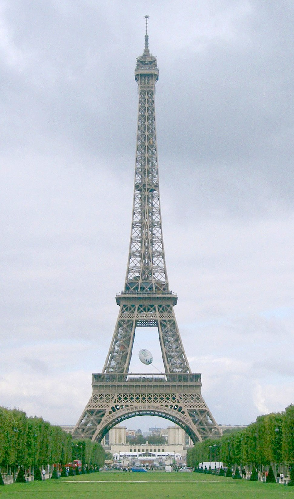 Coupe du monde rugby - tour Eiffel