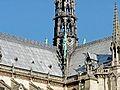 Couverture en plomb sur la cathédrale Notre Dame de Paris..JPG