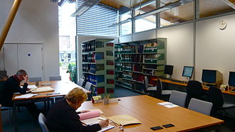 Herbert Art Gallery and Museum - Researchers in the History Centre