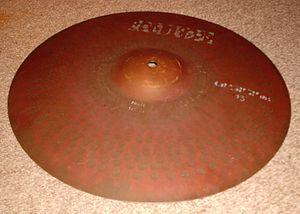 "Crash/ride cymbal - Paiste Rude 16"" crash/ride"