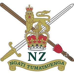 New Zealand and Australian Division - Image: Crest of the New Zealand Army