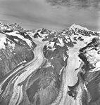 Crillon Glacier, valley glacier with hanging glaciers on the mountainsides, August 27, 1969 (GLACIERS 5341).jpg