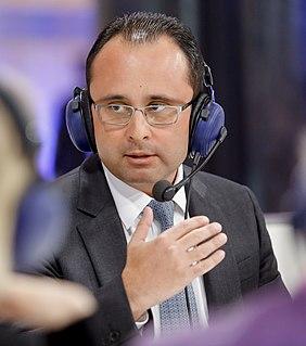 Cristian Bușoi Romanian politician