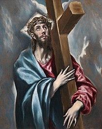 Cristo abrazado a la cruz (El Greco, Museo del Prado).jpg