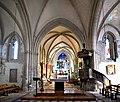 Croisée du transept de l'église Saint-Candide de Picauville.jpg