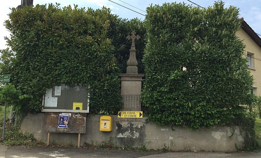 Croix à Sainte-Julie.